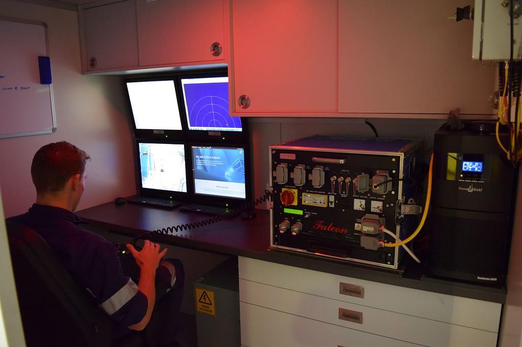 Focus Subsea Topside Control Cabin