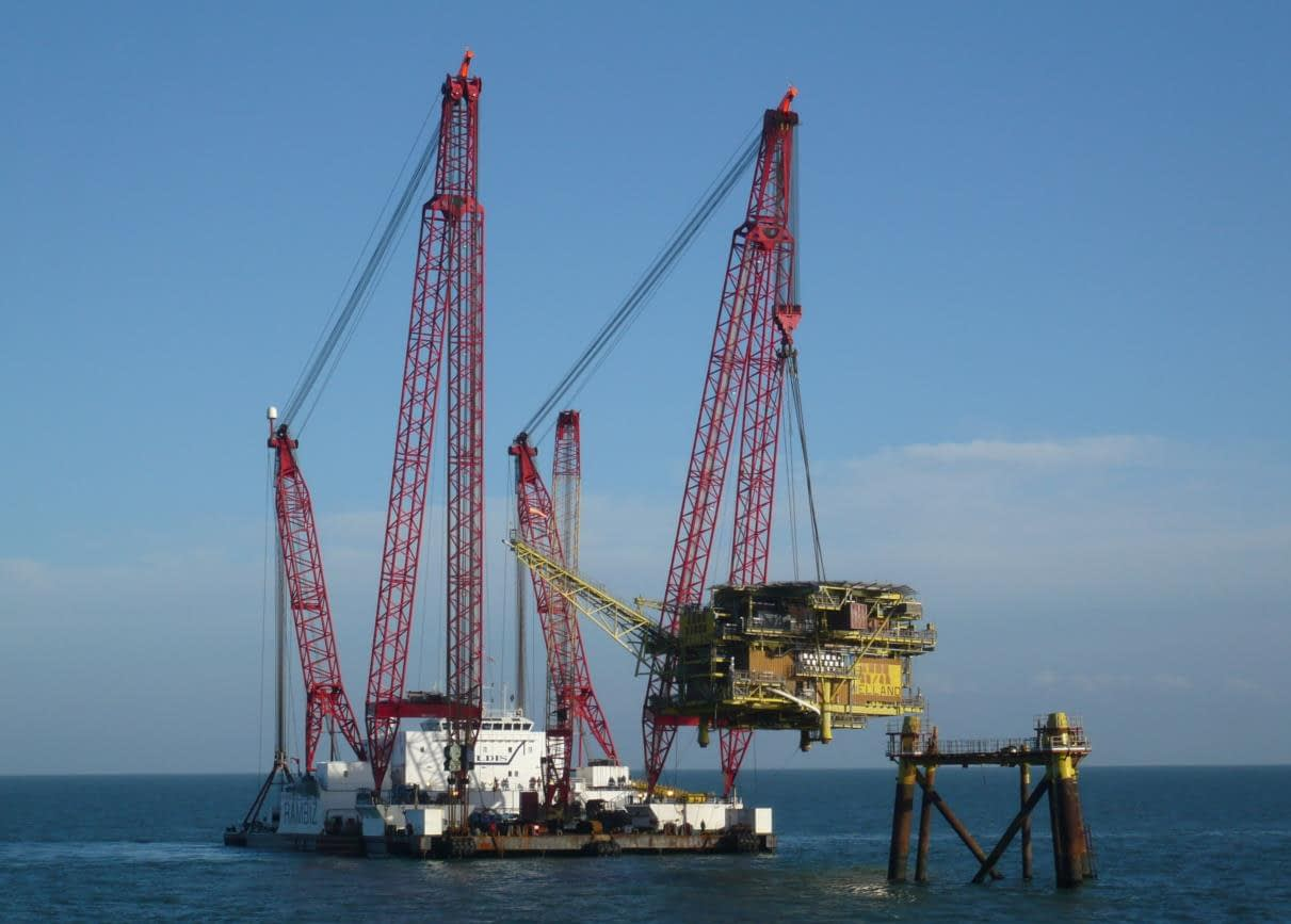 Oil Rig Decommissioning
